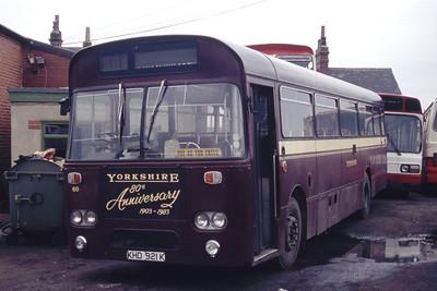 Black Prince Morley KHD921K Depot Morley Apr 95