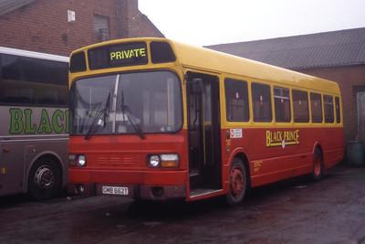 Black Prince Morley GMB662T Depot Morley Mar 96