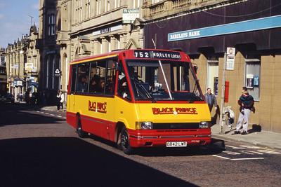 Black Prince Morley G842LWR Queen St Morley Mar 94