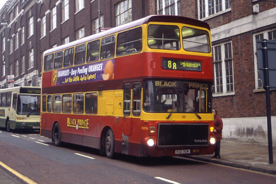 Black Prince Morley KSD95W East Gate Leeds Mar 96