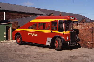 Black Prince Morley CCK368 Depot Morley Sep 91