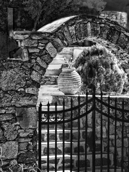 Mykonos, Greece (infrared)