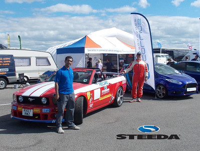John of Steeda UK at Ford Fair