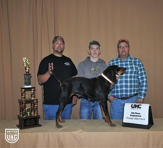 2017 American Black & Tan Days Friday 8th Place Registered