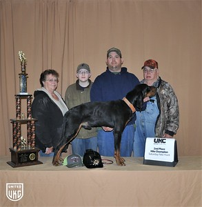 2017 American Black & Tan Days Saturday 2nd Place Nite Champion