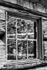 Window Study 02 (B&W)