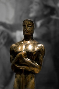 Katharlne Hepburn's 1933 Oscar  CBW