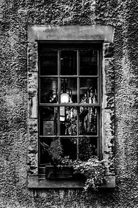 Window Study 21 - Scotland,  (BW)
