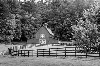 Rustic Barn Study 20 (BW)