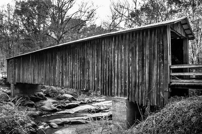 Elder Mill Covered Bridge (BW)