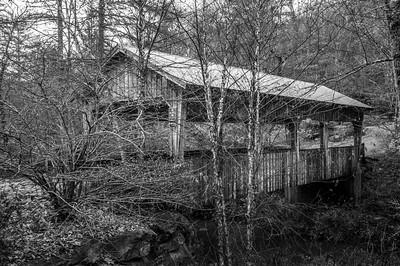 NC Covered Bridge (BW)