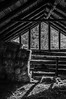 Rustic Barn Study 03 (BW)