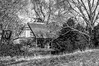 Rustic Barn Study 13 (BW)