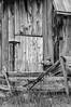 Rustic Barn Study 07 (BW)