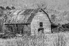 Rustic Barn Study 09 (BW)