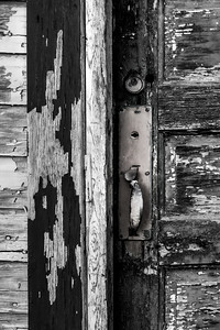 Old Door Study 04 -  (BW)