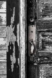 Old Door Study 04 -  (BW)