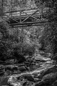 Iron Bridge Upstream (BW)