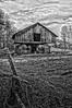 Rustic Barn Study 01 (BW)