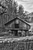 Rustic Barn Study 02 (BW)
