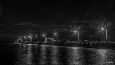 Pre-sunrise at Ballast Point Pier