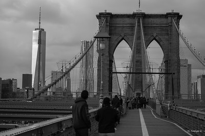 Bridge with Freedom Tower