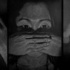 """""""I do not see, can not hear, I do not speak"""" (triptych) by Arzhan Yuteev"""