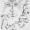 """""""Memory"""" (felt-tip pen on paper) by Dmitry (Dikson) Ostapchuk"""