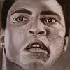 """Muhammad Ali"" (graphite, charcoal) by Joseph Sasso"