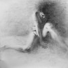 """No Title Available"" (charcoal on paper) by Sai Li"