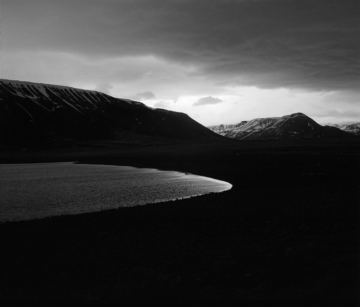 """Lake at Dusk"" (silver gelatin) by Austin Cullen"