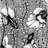 """Aquarium"" (ink on paper) by Darya Zakharova"