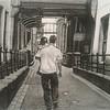 """Walking around the City"" (charcoal) by Lisa korff"