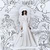 """The bride"" (photography, ink) by Tania Volobueva"
