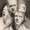 """""""Emotion"""" (charcoal) by Aaron Krone"""