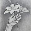 """Faith"" (graphite on paper) by Alina Kryzhanovsky"