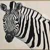 """""""Zebra"""" (acrylic) by David Warner"""