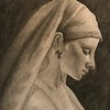 """Young Woman"" (pencil) by Juan Andres"