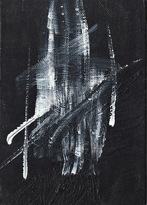 """Suite"" (acrylic on wood) by Carol Bertolotti"