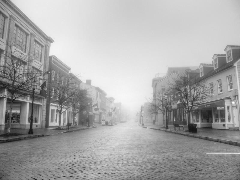 Foggy West Street