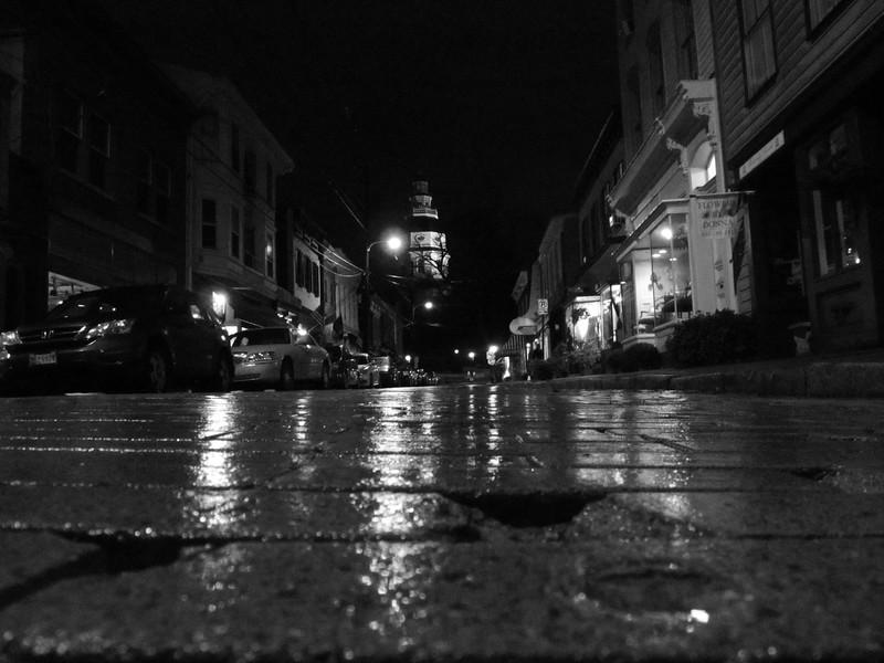 Naptown in the rain