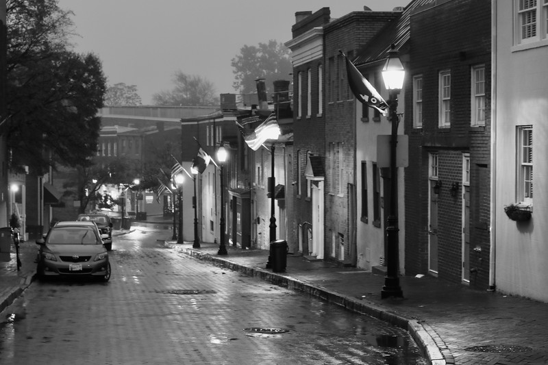Francis Street in the Rain