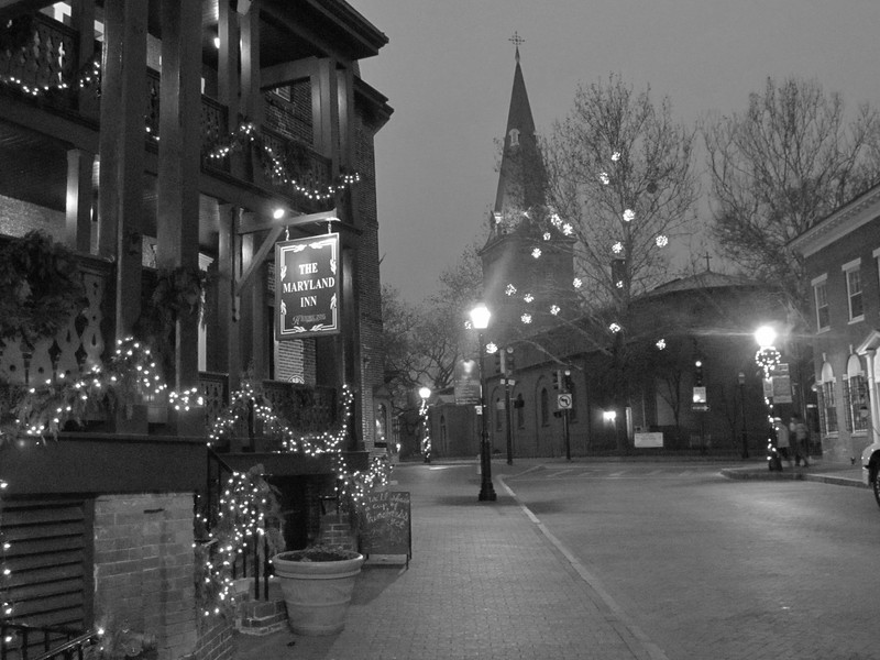 Church Circle from Main Street