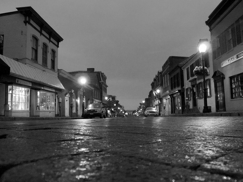 Rainy Main Street Annapolis