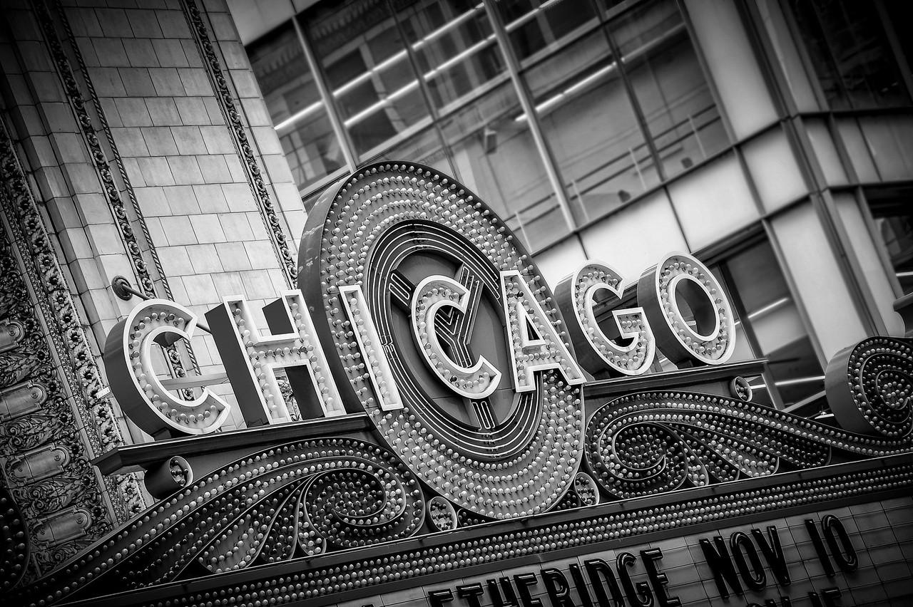 Chicago Theatre Sign Edit 1166
