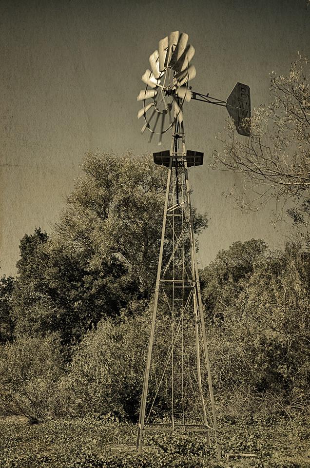Sonoma windmill
