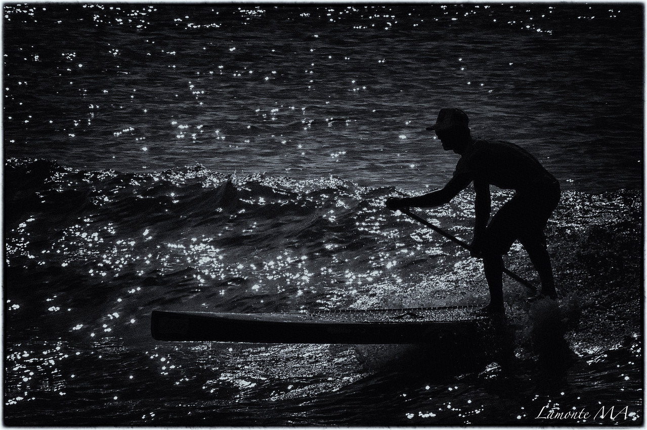 Stand up paddle - racer