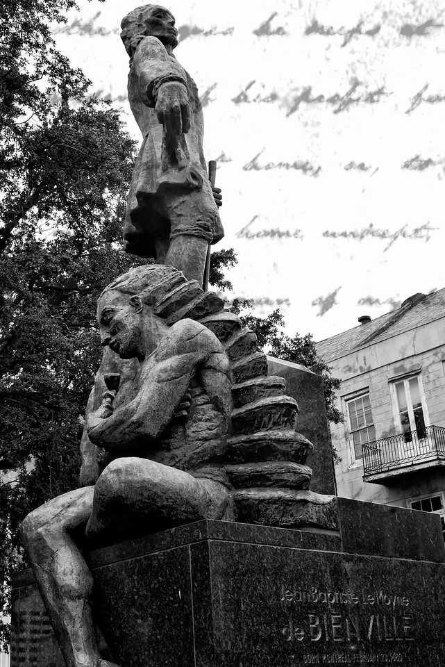 Symbolic statue New Orleans