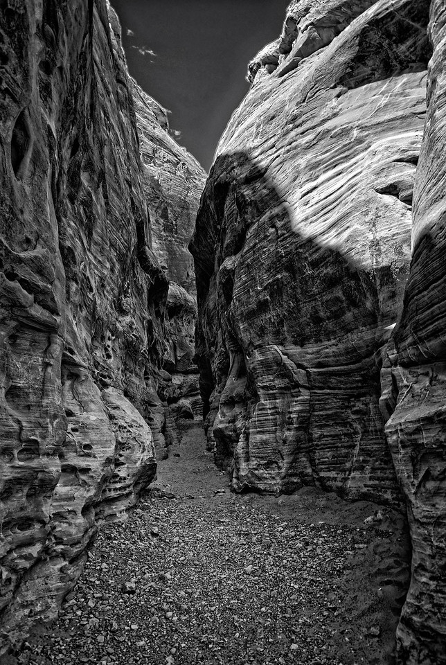 Slot Canyon B & W