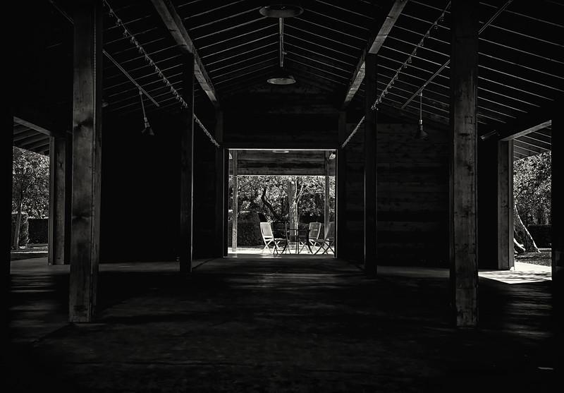 Three barn doors- Sonoma